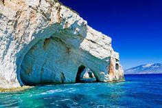 Blue Caves, Zakynthos, Griechenland