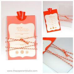 The Paper Art Studio: Bakers Twine obsession