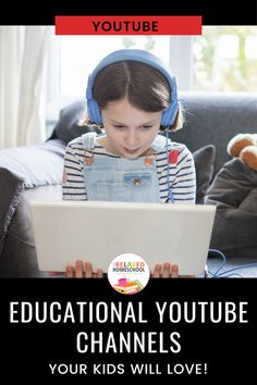 Educational Youtube Channels For Kids - The Relaxed Homeschool Educational Youtube Channels, Educational Videos, Modern Day Disney, Cool Experiments, Teaching Kindergarten, Teaching Tools, Fun Projects For Kids, Rainy Day Activities, School Videos