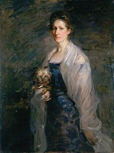 """""""Mrs William Pyper"""", Robert Brough, 1900; ABDAG002643"""