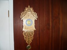 Heavenly Angels Chiming Wall Clock by dreamwvr81 on Etsy, $300.00