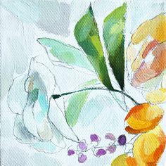 """Orange Blooms No. 2"" Fine Art Prints"