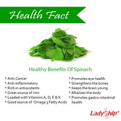 Now there's a reason why Popeye loves spinach. And so should you! Take a look at these healthy benefits.