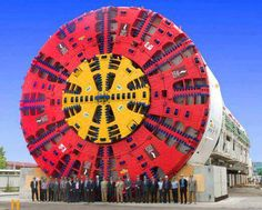 FOR SALE huge tunnel boring machine. One careful owner. Only a few miles on the clock, all underground. Tunnel Boring Machine, Underground Bunker, Underground Cities, Monster Trucks, Construction, Heavy Machinery, Heavy Equipment, Mining Equipment, Big Trucks