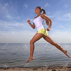 Image result for running on the beach images