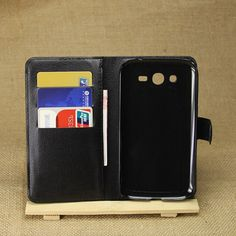 For Grand i9080 Case Wallet Flip PU Leather Cover Case For Samsung Galaxy Grand i9080 With Card Slots Holder