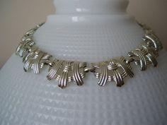 Coro Silver Tone Necklace