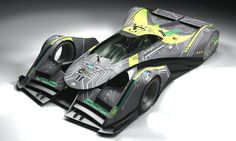 LMP CONCEPT RACE CARS