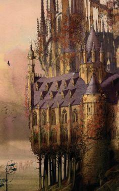 Jim Kay on the struggle behind his astonishing new illustrations of Harry Potter Harry Potter Jim Kay, Harry Potter Poster, Harry Potter Fan Art, Harry Potter Characters, Harry Potter World, Fantasy Landscape, Fantasy Art, Harry Potter Planner, Fanart