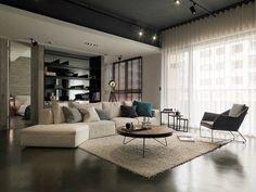 42 Stunning Modern Apartment Interior Design Trends 79 asian Interior Design Trends In Two Modern Homes [with 4 Modern Home Interior Design, Apartment Interior Design, Luxury Home Decor, Modern House Design, Apartment Ideas, Interior Ideas, Room Interior, Minimalist Home Decor, Minimalist Interior