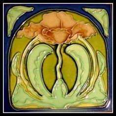 adhemarpo:  Faïence moderne. Carreaux de céramique, 1890 - 1910 .