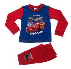 Disney cars Langarmshirt Lightning McQueen 95 blau weiß gelb