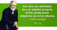 Citate celebre despre succes Andrew Carnegie, Spiritual Quotes, Wise Words, Einstein, Philosophy, Spirituality, Facts, Romania, Blessings