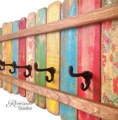 8 Magnifiques Créations Pour Le Jardin À Faire Avec Des Palettes De Bois Colorées... Génial !