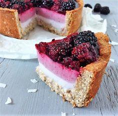 Glutenvrij, genieten, gezond, taart, verantwoord, pie, oh my pie!, bramen, kindvriendelijk, recept, vanille, zomer taart, vegan, lactosevrij, kokosyoghurt