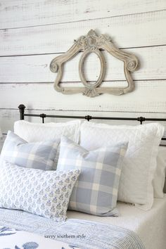 Savvy Southern Style : Summer Styled Guest Bedroom