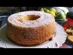 Κέικ Βανίλια, πορτοκάλι,Νηστίσιμο με φρούτα και ξηρούς καρπούς - YouTube Doughnut, Vegan, Fresh, Youtube, Desserts, Recipes, Cupcake, Food, Cakes