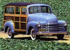 1947 chevrolet suburban woody