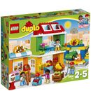 Lego DUPLO: Town Square (10836) 10836 Explore the High Street for endless fun and play opportunities!Play out real-life scenarios in LEGO® DUPLO® My Town: a recognisable world bursting with fresh accessories and characters. Take a stroll  http://www.MightGet.com/january-2017-11/lego-duplo-town-square-10836-10836.asp