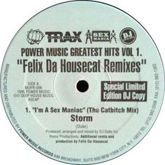 Various - Power Music Greatest Hits Vol. 1. Felix Da Hous... / Felix Da Housecatによるリミックス収録、ファンキーなハウス・トラックス。
