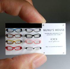 Miniatures, Eyeglasses from Nunu's House.