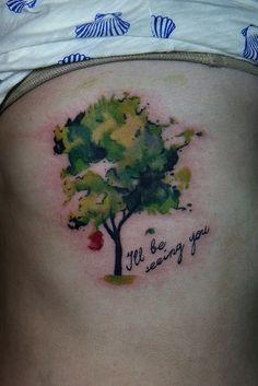 memorial tree tattoo | Flickr - Photo Sharing!