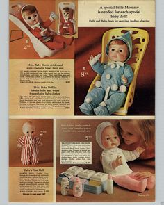 1970 PAPER AD Doll Dolls Baby Carrie Softina Kewpie Patti Playful Sweetums in Collectibles, Advertising, Other Collectible Ads | eBay