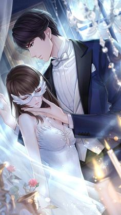 Read quality translation of Indulgent Husband and Sweet Wife at Flying Lines. Couple Anime Manga, Anime Cupples, Anime Love Couple, Art Anime Fille, Anime Art Girl, Handsome Anime Guys, Cute Anime Guys, Anime Couple Romantique, Manga Romance