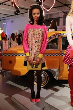 mod meets retro dresses and accessories at kate spade fall 2013
