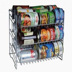 Slim space-saving solutionDurable steel wire construction designed to withstand continuous useAngled shelves for convenient