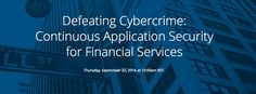 #security Today at 10am BST join our webinar on #AppSec for #finserv with billfearnleyjr & mgoldgof  http://pic.twitter.com/y3dr7SC4DI   Network Security 4u (@Net__Security) September 22 2016