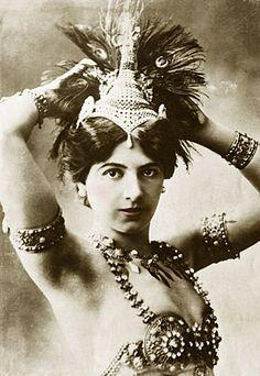 Mata Hari...(around 1905-1912)