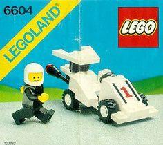 Town - Formula 1 Racer  [Lego 6604]