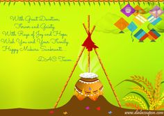 Dial A Coupon Team Wishes All A Happy Makara Sankranti !!!