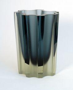 Tapio Wirkkala, Vase for Iittala Glass, 1960s.
