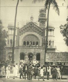 Festa de São Sebastião na nova Igreja do padroeiro, na Tijuca. Rio de Janeiro, 1931.