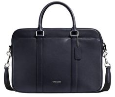 Coach Crossgrain Leather Slim Brief Business Laptop Bag. Carry your laptop in style! The Coach Crossgrain Leather Slim Brief Business Laptop Bag is a top 10 member favorite on Tradesy. Save on yours before they're sold out!