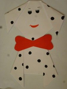 Dalmatian dog craft (1)
