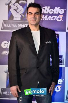 Arbaaz Khan at the Launch of Gillette's 'Will You Shave' campaign in Mumbai