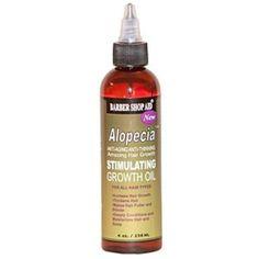 Barber Shop Aid: Alopecia Growth Oil 4oz