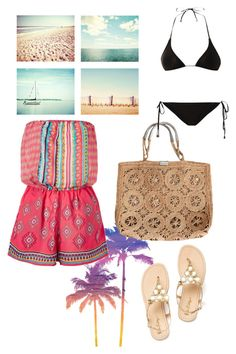 Beach ready xx by simpsonnyc on Polyvore featuring polyvore, fashion, style, Lipsy, We Are Handsome and clothing