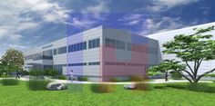 3D visualisation - Production Hall Brückner 3d Visualization, Multi Story Building, Mansions, House Styles, Home Decor, Decoration Home, Manor Houses, Room Decor, Villas