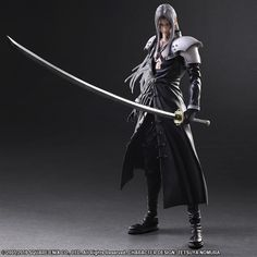 Final Fantasy VII: Advent Children Play Arts Kai Sephiroth due out next year - Nova Crystallis