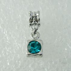 Teal Squared - Euro Beads Boutique