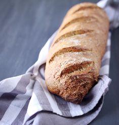 Faire son pain maison sans machine à pain - chefNini Best Bread Recipe, Bread Recipes, Cooking Recipes, Healthy Recipes, Healthy Food, Pasta, 20 Min, Naan, Main Meals