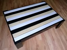 Unique, stylish,recycled, retro ,modern pallet coffee table.  http://www.ebay.co.uk/itm/251598293906?ssPageName=STRK:MESELX:IT&_trksid=p3984.m1555.l2649