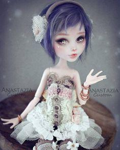 Monster High ooak custom by Anastazia