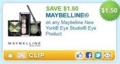Save on Maybelline New York Eye Studio!