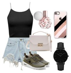 """Untitled #192"" by perlahak on Polyvore featuring Chicnova Fashion, NIKE, CLUSE and Casetify"