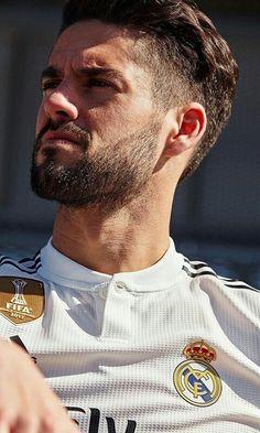 Isco Real Madrid, Real Madrid Team, Real Madrid Football Club, Paris Saint Germain Fc, Cristino Ronaldo, Real Madrid Wallpapers, Isco Alarcon, Spanish Men, Fc Bayern Munich
